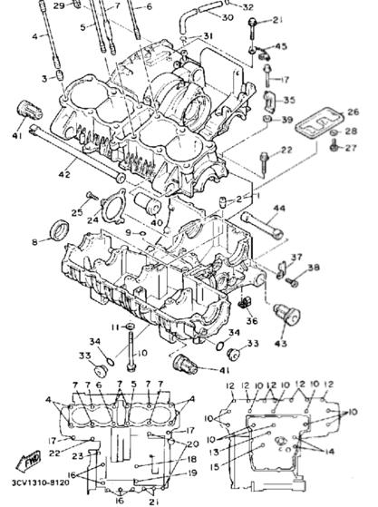 yamaha fj1200 engine diagram yamaha wiring diagrams